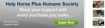 Apply for Horse Plus Humane Society Credit Card